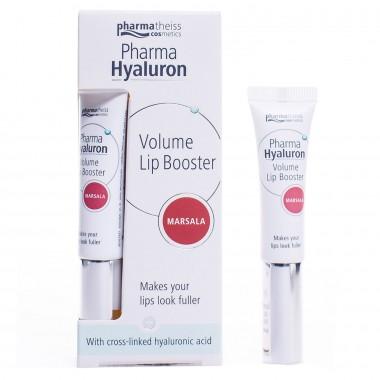 УЦІНКА! PHARMA HYALURON Lip Booster бальзам для об'єму губ рожевий, 7 мл