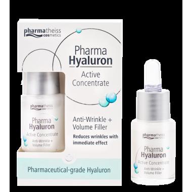 Pharma Hyaluron активний гіалурон-концентрат проти зморшок для пружності, 13 мл