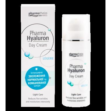 Pharma Hyaluron денний крем для обличчя legere, 50 мл