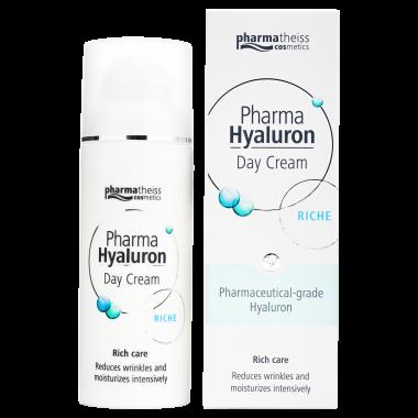 Pharma Hyaluron денний крем riche для сухої шкіри, 50 мл