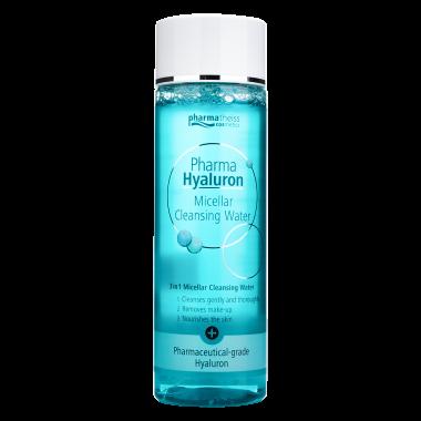 Pharma Hyaluron міцелярна вода для очищення шкіри, 200 мл