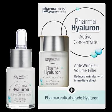 Pharma Hyaluron активна сироватка проти зморшок для пружності