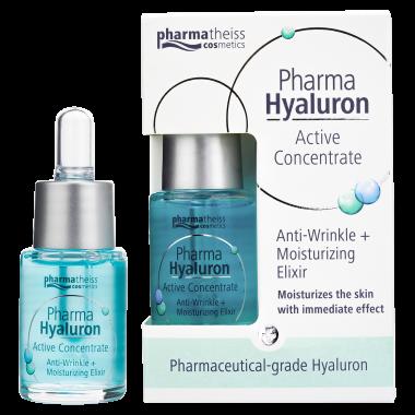 Pharma Hyaluron активна сироватка проти зморшок  для зволоження